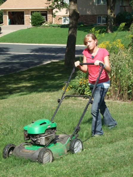 Lawnmowing-fun